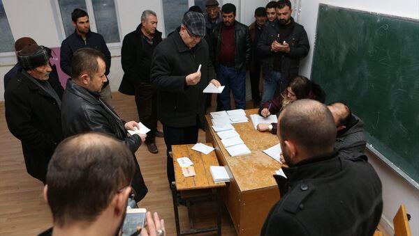 Çorum'un Sungurlu ilçesine bağlı Kula köyünde referandum - Sputnik Türkiye