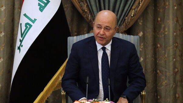 Irak Cumhurbaşkanı Berhem Salih - Sputnik Türkiye