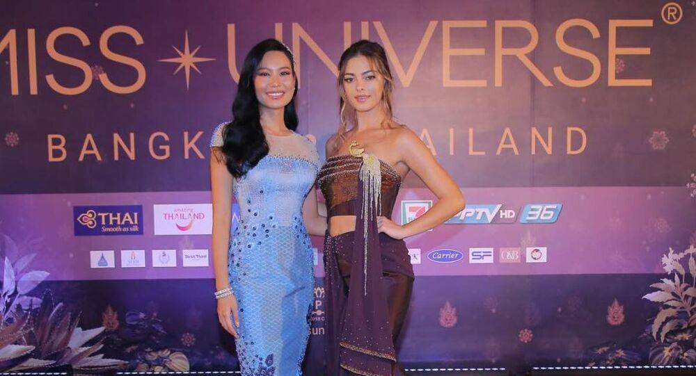 Taylan'da prensesin tasarladığı elbiseyi eleştiren sunucu özür diledi