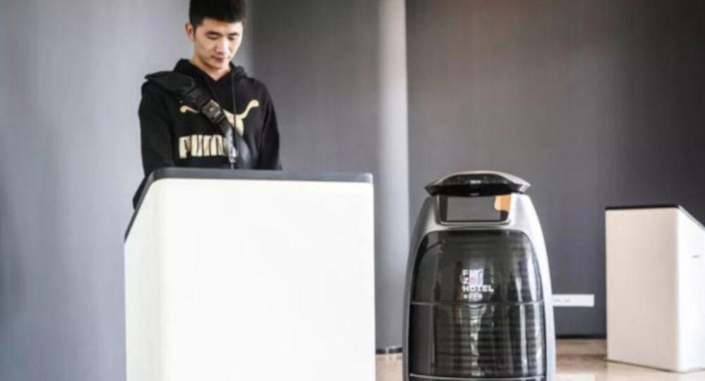 Çin'de yapay zeka ile donatılmış otel açıldı