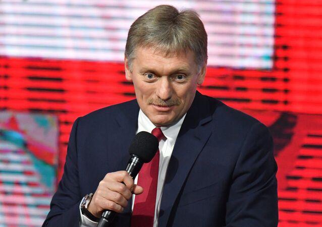 Kremlin Sözcüsü Dmitriy Peskov.