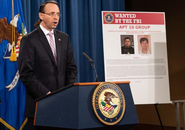 ABD Adalet Bakanı Yardımcısı Rod Rosenstein