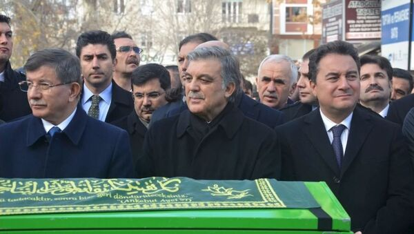 Ahmet Davutoğlu - Ali Babacan - Abdullah Gül - Sputnik Türkiye