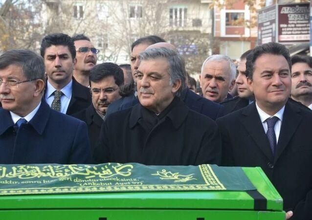 Ahmet Davutoğlu - Ali Babacan - Abdullah Gül
