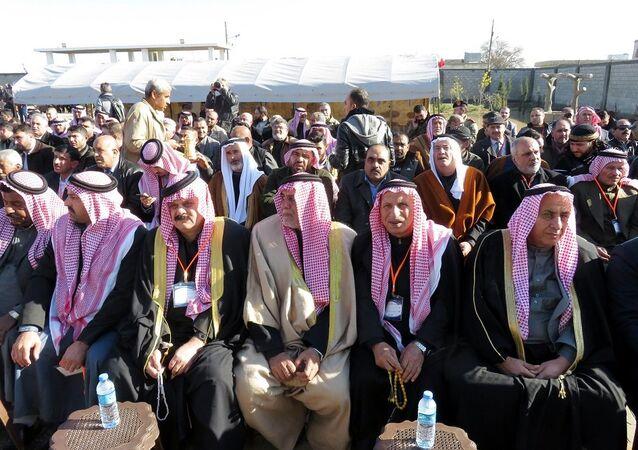Suriyeli aşiret ve kabile reisleri, Fırat'ın doğusu için toplandı