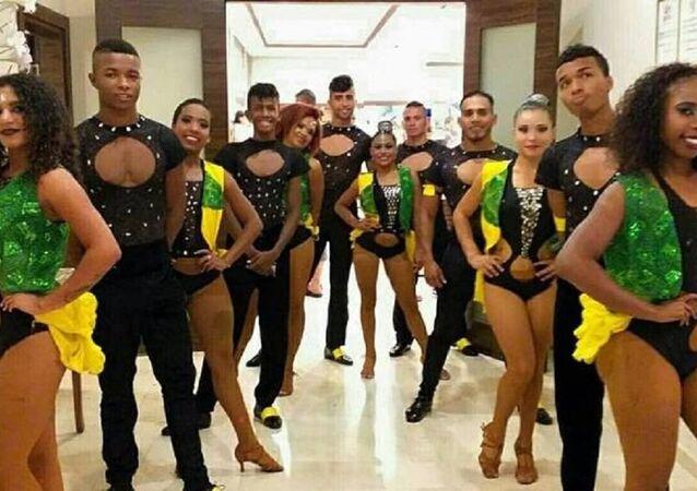Kolombiyalı dansçılar