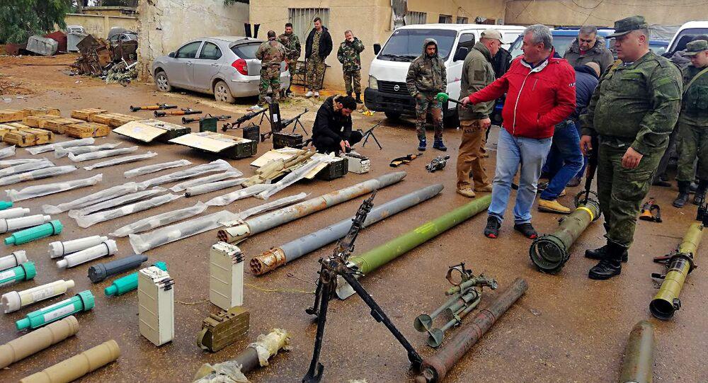 Suriye'nin güneyinde Amerikan roketleri bulundu