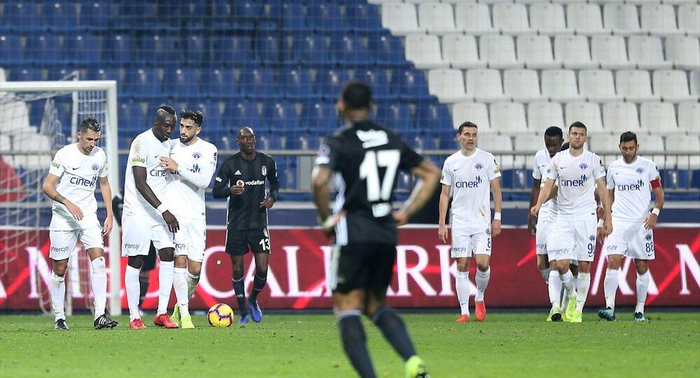 Spor Toto Süper Lig'in 17. haftasında Kasımpaşa ile Beşiktaş, Kasımpaşa Recep Tayyip Erdoğan Stadı'nda karşılaştı