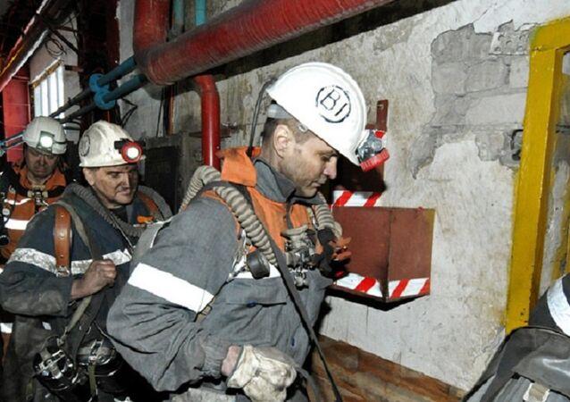 Rusya maden ocağı yangın