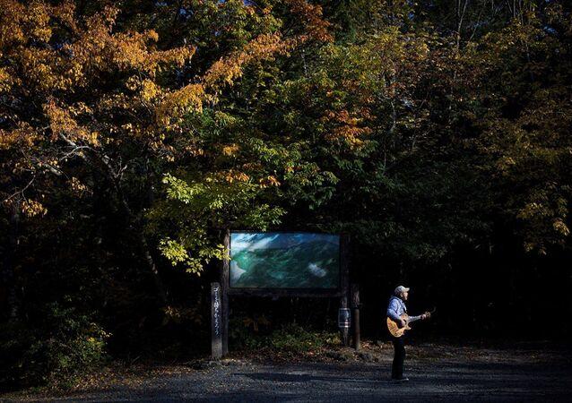 'İntihar Ormanı' olarak bilinen Aokigahara ormanının bekçisi Kyochi Watanabe