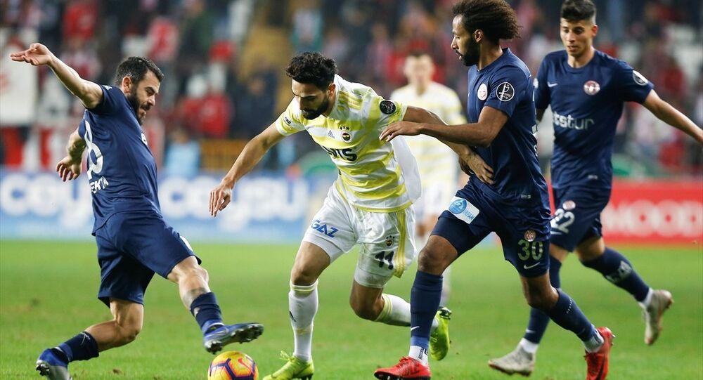 Antalyaspor-Fenerbahçe karşılaşması