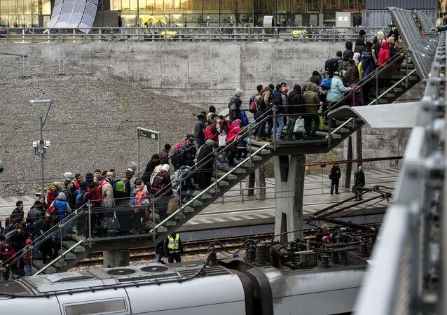 İsveç- Göçmen
