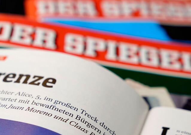 Almanya'nın Der Spiegel dergisinin Claas Relotius-Juan Moreno imzalı haberi