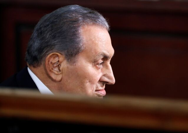 Mısır'ın devrik Cumhurbaşkanı Hüsnü Mübarek