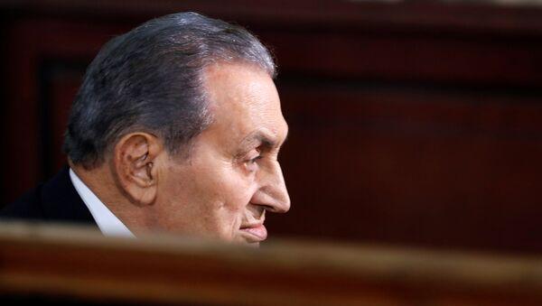 Mısır'ın devrik Cumhurbaşkanı Hüsnü Mübarek - Sputnik Türkiye