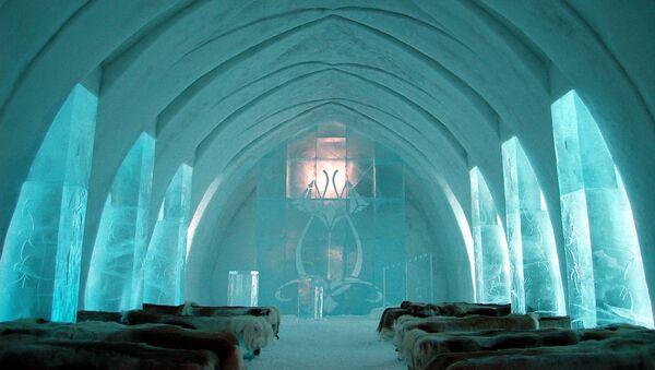 Dünyanın etkileyici buzdan otelleri - Sputnik Türkiye