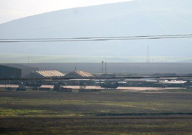 AA: ABD askerlerinin Suriye'den çekilirken kullanması beklenen hava üssünde hareketlilik gözlendi
