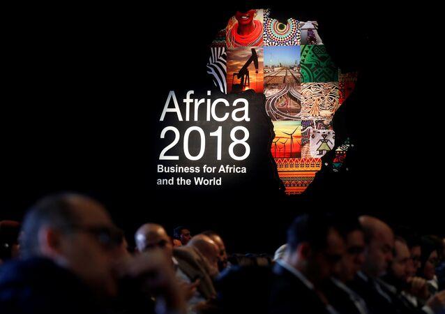 Mısır'ın Şarm el Şeyh kentinde düzenlenen 2018 Afrika Forumu