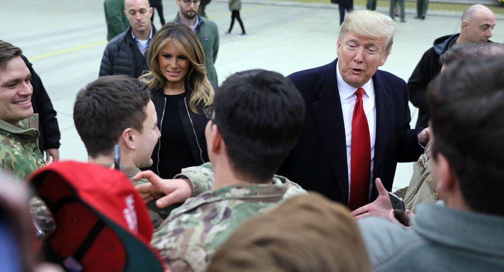 ABD Başkanı Donald Trump- Irak