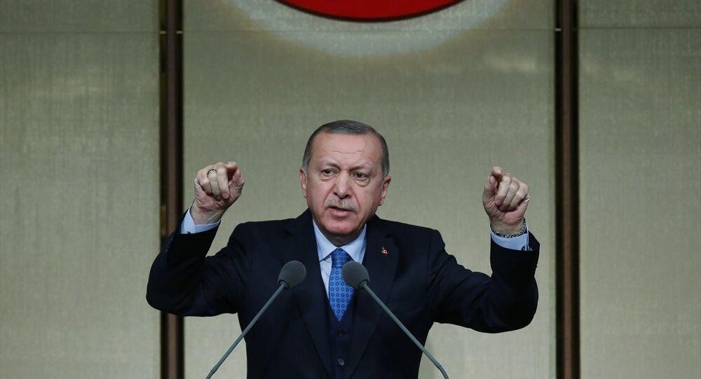 Cumhurbaşkanı Erdoğan, Beştepe'de düzenlenen muhtarlar toplantısında konuştu