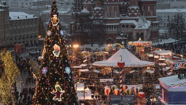 Moskova- Yeni yıl - Sputnik Türkiye