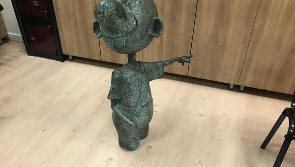 avanak avni heykeli - Sputnik Türkiye