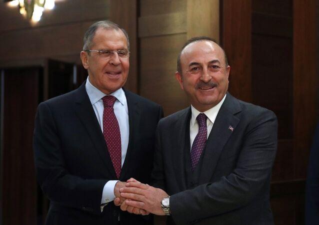 Rusya Dışişleri Bakanı Sergey Lavrov-Dışişleri Bakanı Mevlüt Çavuşoğlu