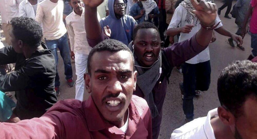 Sudan'daki Protestolar