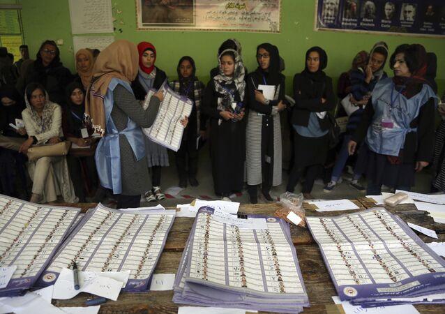 Afganistan seçim