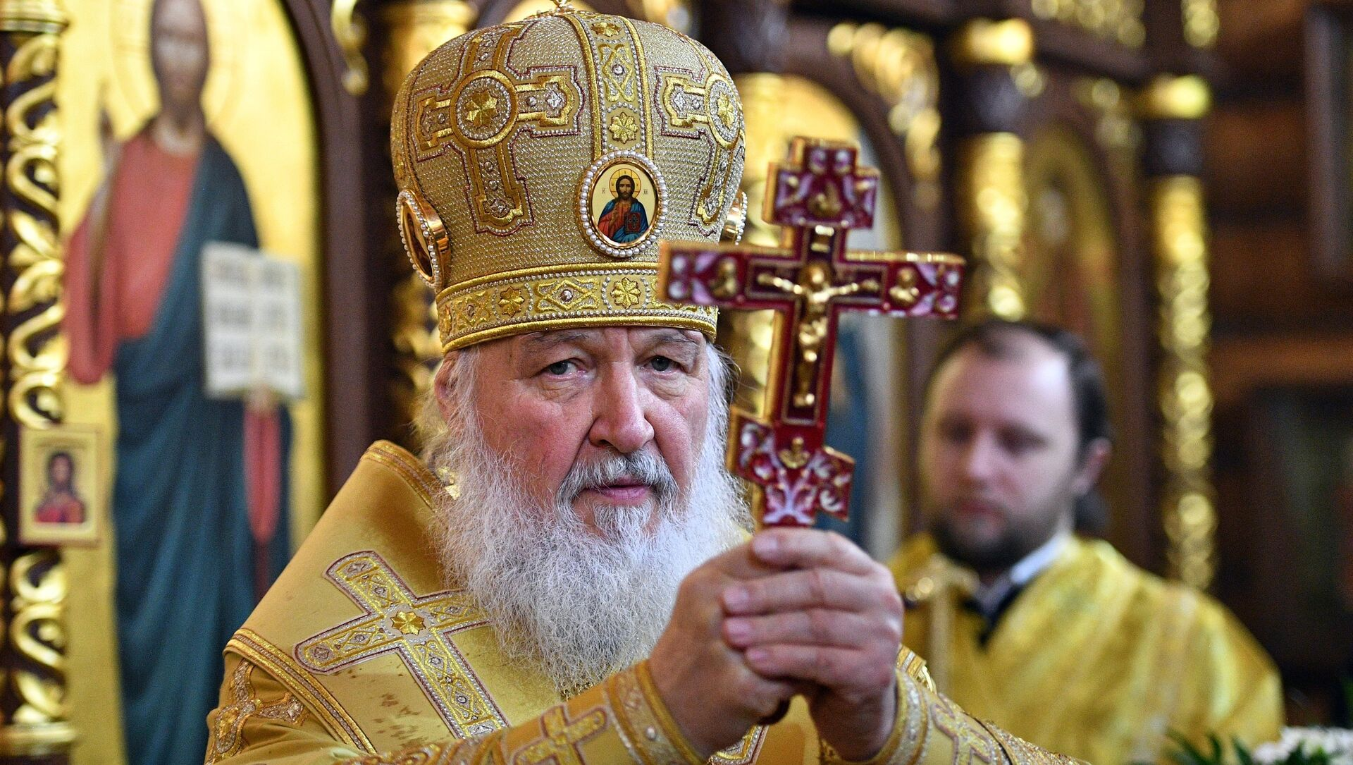 Rus Ortodoks Kilisesi lideri Patrik Kirill - Sputnik Türkiye, 1920, 25.04.2021