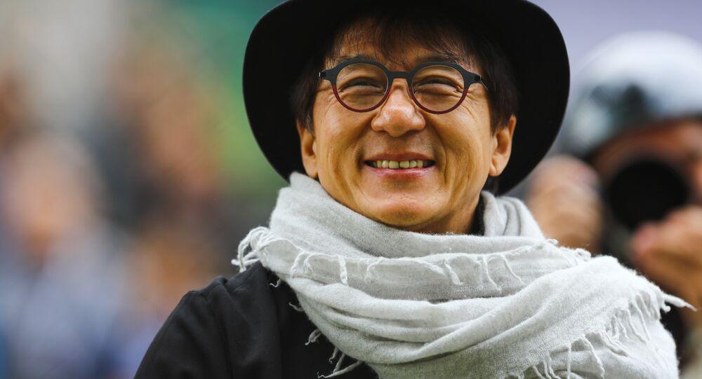 Çinli aktör Jackie Chan