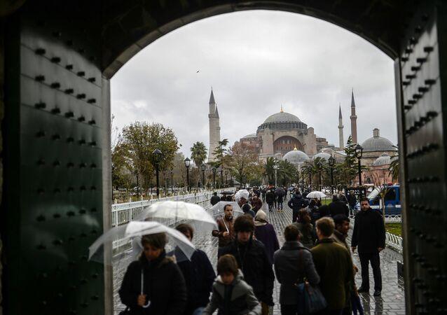 İstanbul-turist-Ayasofya