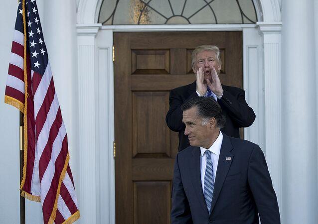 Beyaz Saray'da Trump-Romney görüşmesi