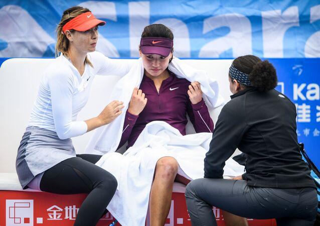 Mariya Şarapova, sportmenliğiyle takdir topladı