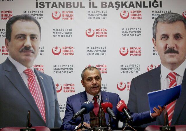 Büyük Birlik Partisi (BBP) İstanbul İl Başkanı Yaşar Sayan