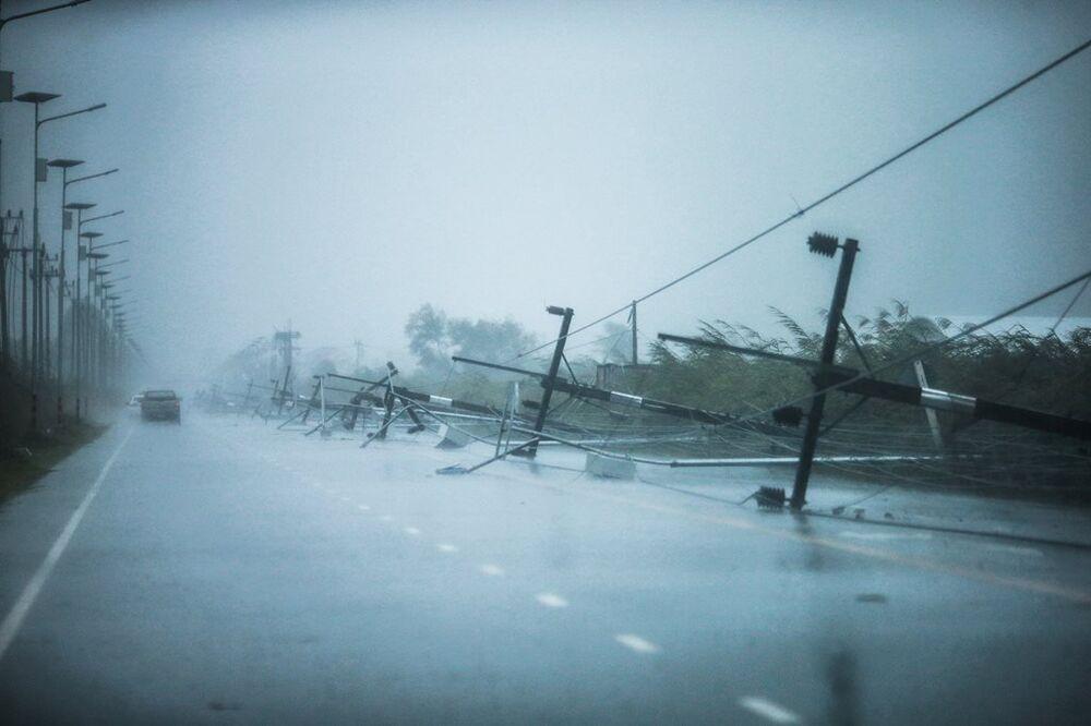 Tayland'daki Pabuk fırtınası