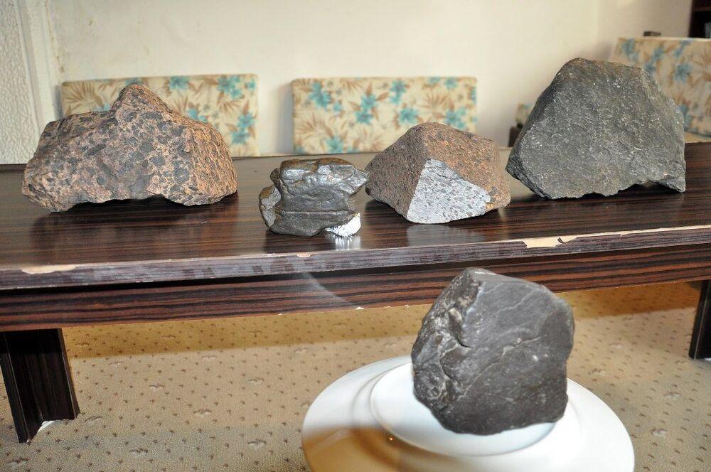 Aydın'ın Didim ilçesinde bulunan gök taşlar