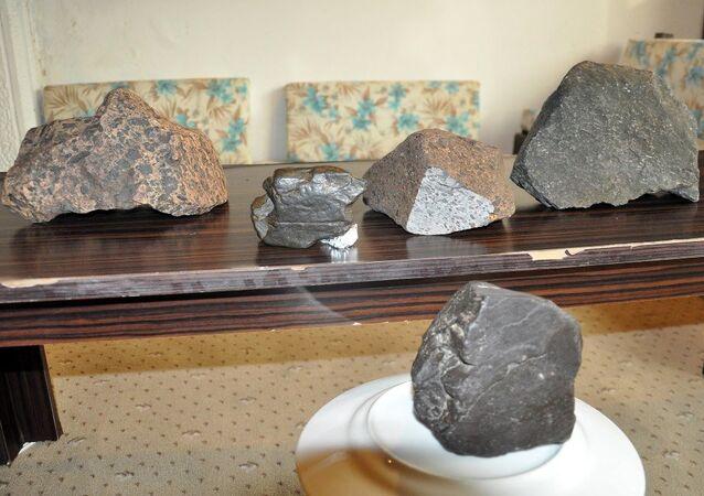 Aydın'ın Didim ilçesinde gök taşlar