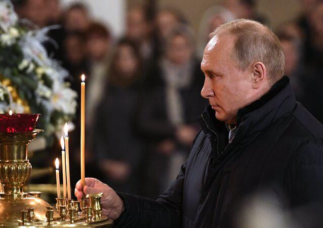 Rusya lideri Vladimir Putin- Noel