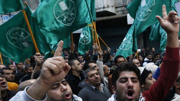Mısır'da Müslüman Kardeşler taraftarları - Sputnik Türkiye