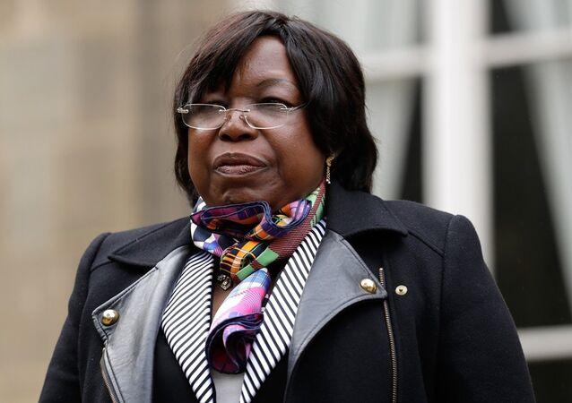 Orta Afrika Cumhuriyeti Savunma Bakanı Marie-Noelle Koyara