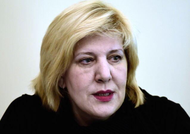 Avrupa Birliği Komisyonu'nın insan haklarından sorumlu üyesi Dunja Mijatovic