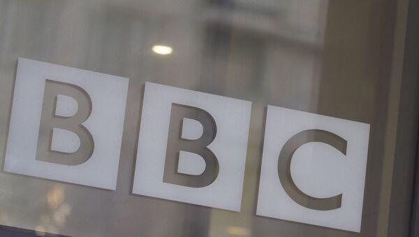 BBC'nin Londra'daki merkez binasından bir kare - Sputnik Türkiye