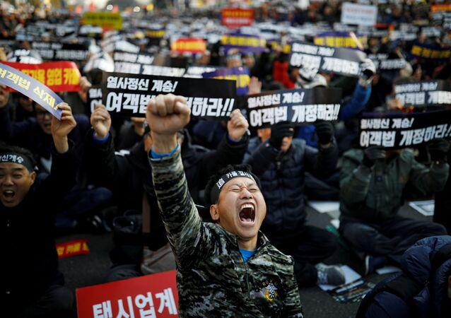 Güney Kore- Taksi