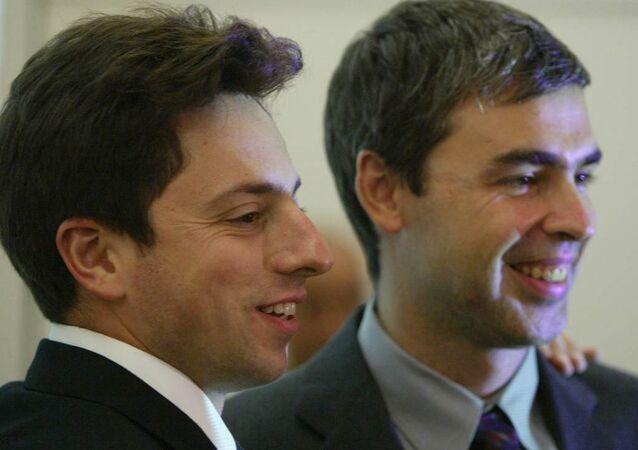 Google'ın kurucusu Larry Page ve Sergey Brin