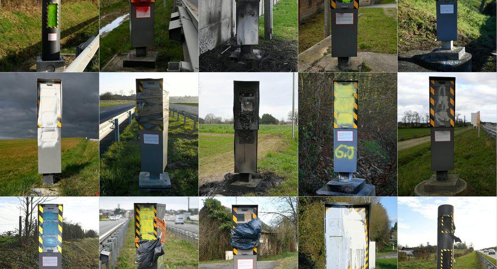 Fransa sabit yol radarları