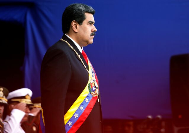 Venezüella Devlet Başkanı Nicholas Maduro