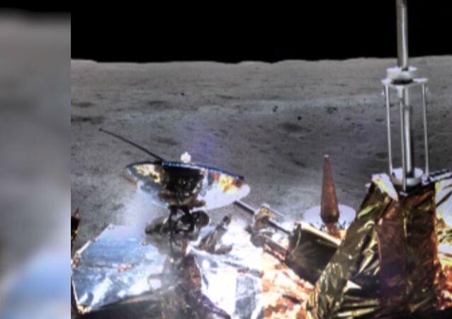 Çin uzay aracı Ay'ın karanlık yüzünün fotoğrafını gönderdi
