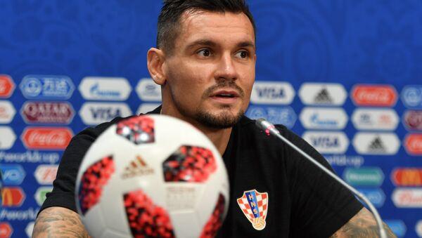 Hırvatistan Milli Takımı ve Liverpool'da top koşturan defans oyuncusu Dejan Lovren - Sputnik Türkiye