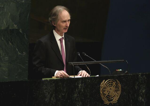Birleşmiş Milletler Suriye Özel Temsilcisi Geir O. Pederson